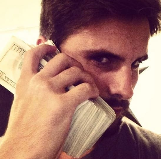 Scott Disick: Estimated Net Worth, $15 Million