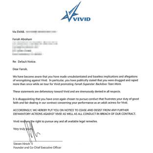 Farrah L Letter