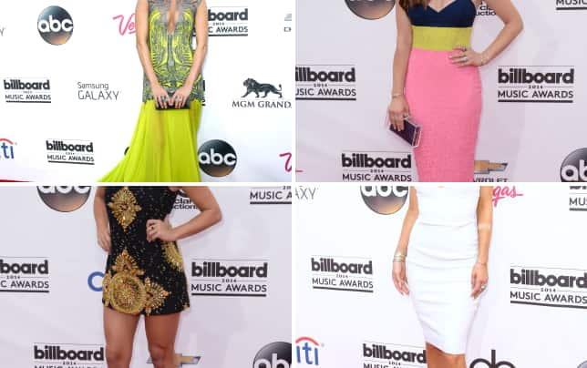 Carrie underwood at the billboard music awards
