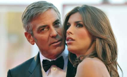 George Clooney Pops a Question to Sarah Larson