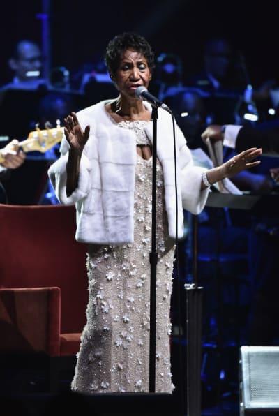 Aretha Franklin in 2017