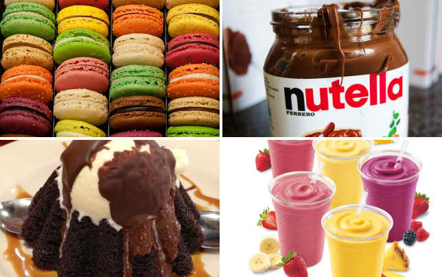 9 totally overrated foods macarons