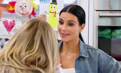 Kim Kardashian Gushes Over Caitlyn Jenner's Boobs
