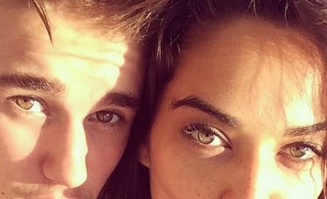 Shanina Shaik and Justin Bieber
