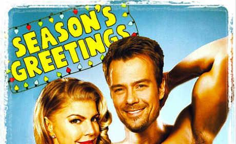 Fergie and Josh Duhamel Christmas Card