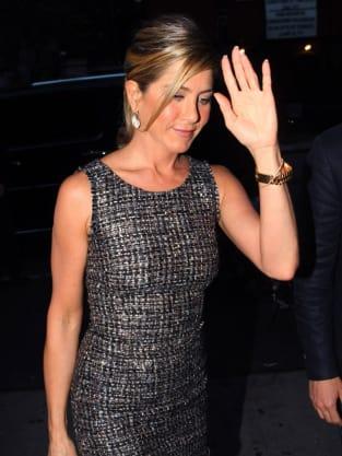 Raising Her Hand
