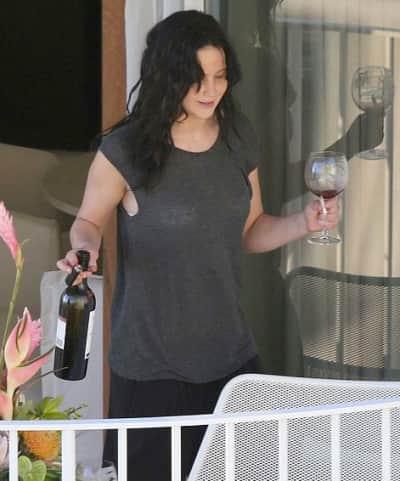 Jennifer Lawrence Smoking Pot