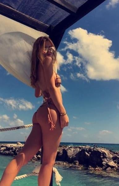 Bella Thorne in a Bikini on Instagram