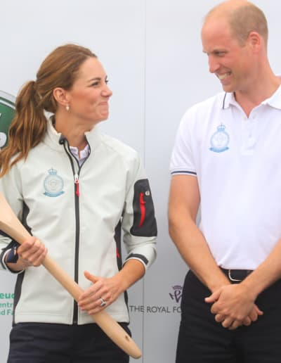 Prince William and Kate Middleton Smirk Together