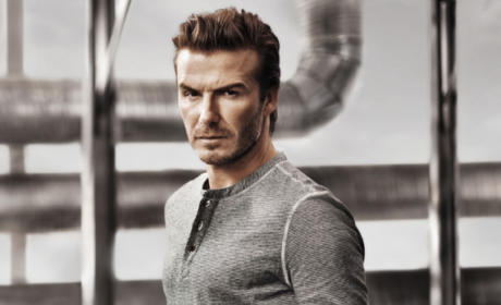 David Beckham: No Pants!