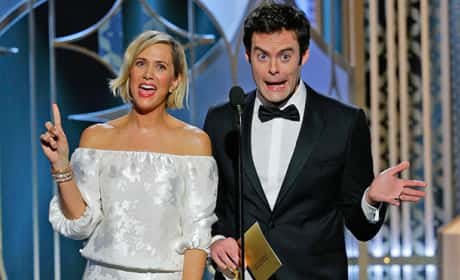 Bill Hader and Kristen Wiig