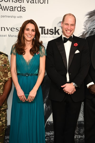 Kate Middleton and Prince William Smile Big
