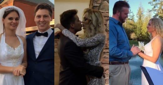 Brandon Gibbs and Julia Trubkina, Jovi Dufren and Yara Zaya, Mike Youngquist and Natalie Mordovtseva split