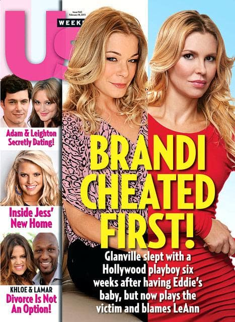 Brandi Glanville Cheated