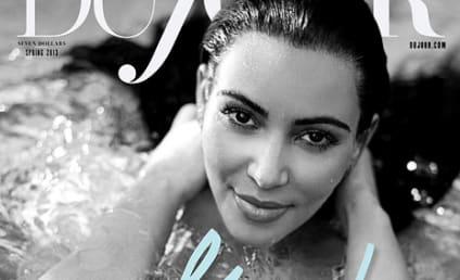 Kim Kardashian Pregnant: Her First Photo Shoot!
