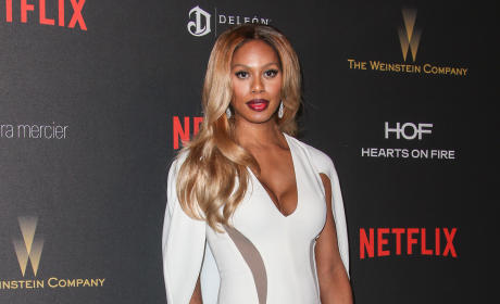 Laverne Cox: The Weinstein Company and Netflix 2016 Golden Globes After Party