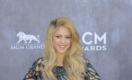Shakira at the 2014 ACMs