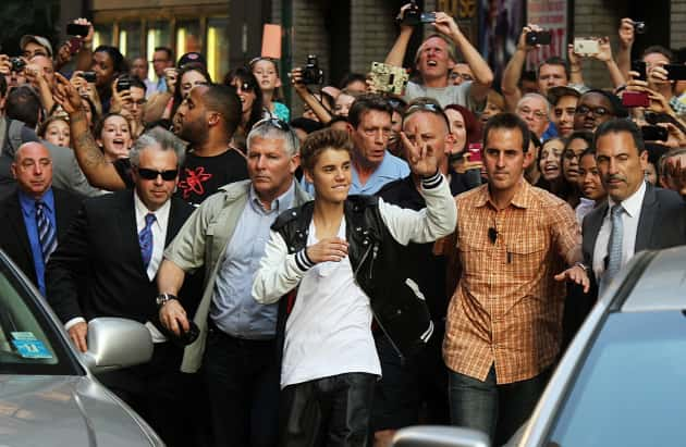 Justin Bieber and His Fans