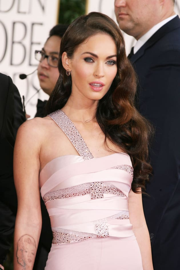 Megan Fox on the Red Carpet