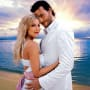 Tori Spelling and Dean McDermott, Wedding Photo