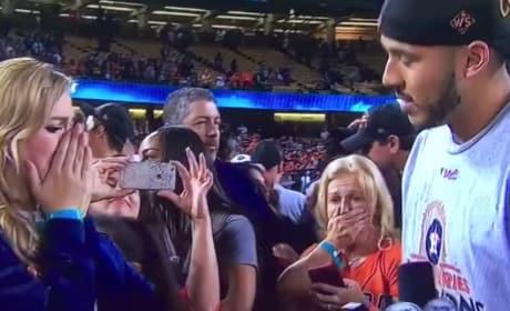 Carlos Correa Wins World Series, Proposes on Field, Has Won Life