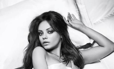 Mila Kunis in Esquire