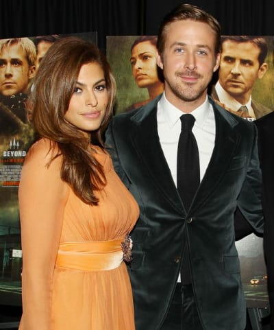 Ryan Gosling and Eva Mendes Photo