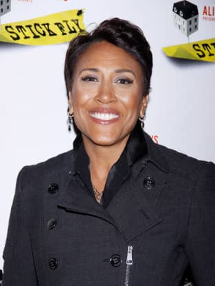 Robin Roberts on a Red Carpet