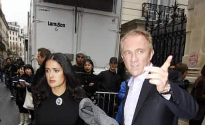 Salma Hayek and Francois-Henri Pinault: Married!