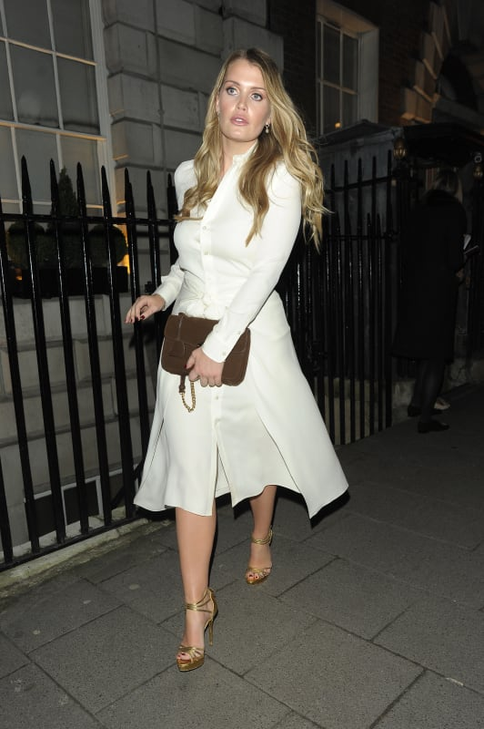 Lady Kitty Spencer: Mrs. Alice for French Sole Launch