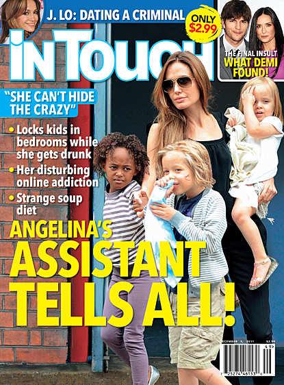 Angelina Jolie is Crazy