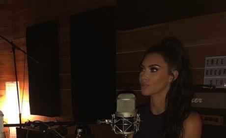 Kim Kardashian Interview Picture
