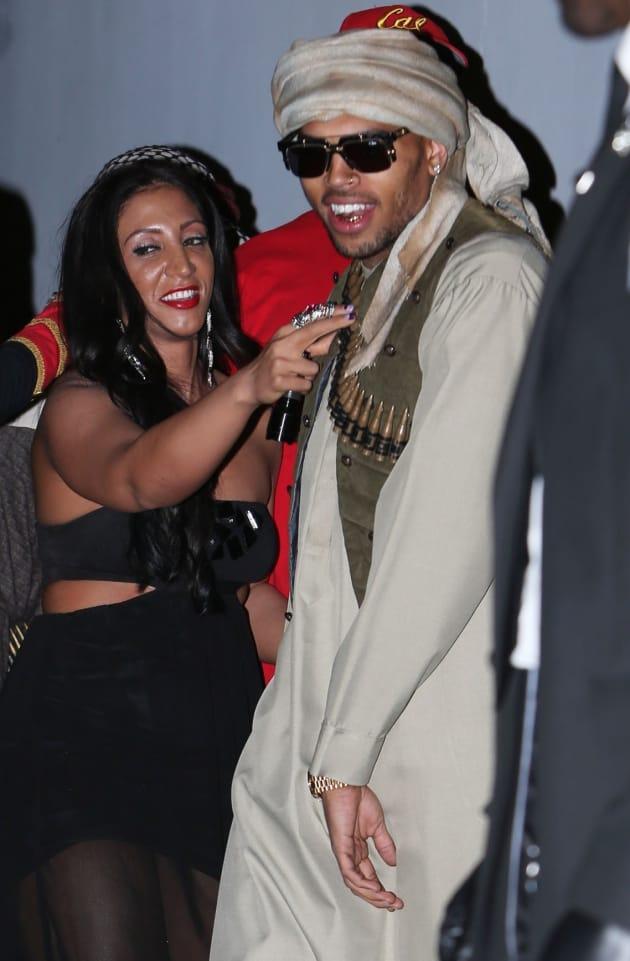 Chris Brown: Terrorist