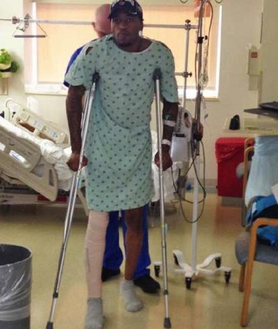 Kevin Ware Twit Pic