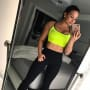 Demi Works Out