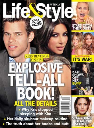 Kim Kardashian Tell-All to Kome?