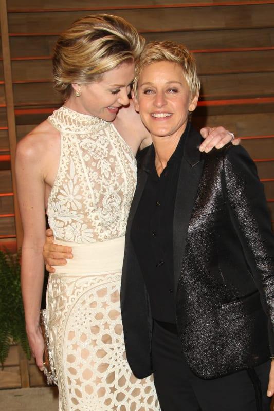 Ellen and Portia Party