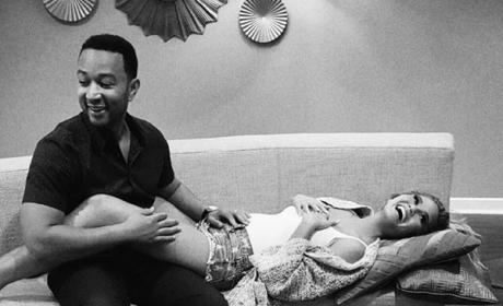 Chrissy Teigen and John Legend Pregnancy Announcement