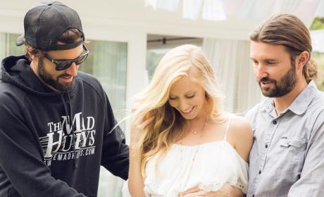 Brandon, Brody and Leah Jenner