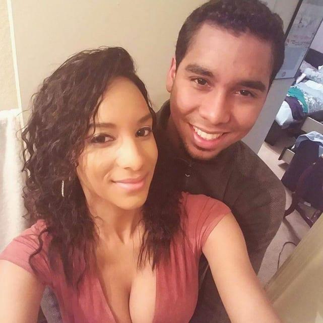 Chantel and pedro selfie
