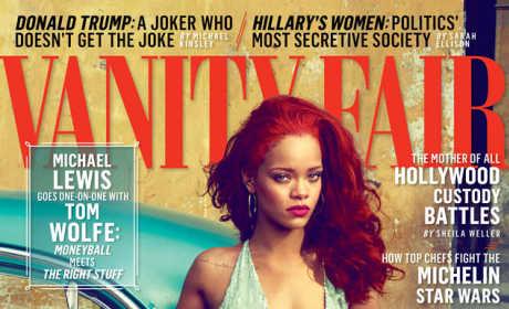 Rihanna Vanity Fair Cover