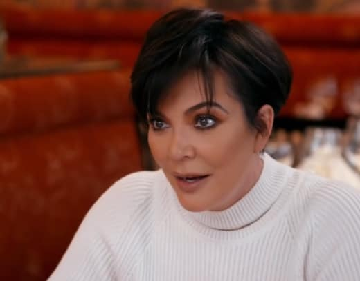Kris Jenner Bonds with Scott Disick