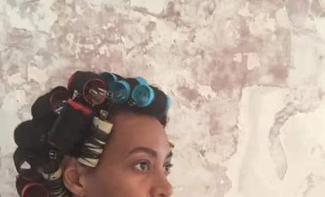 Solange Knowles No Makeup