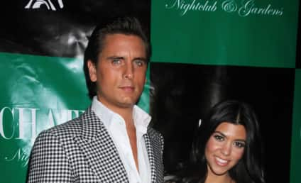 Scott Disick ... Abusing Kourtney Kardashian?!