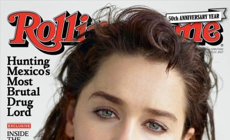 Emilia Clarke Rolling Stone Cover