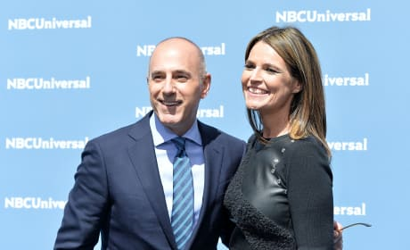Matt Lauer and Savannah Guthrie Photo
