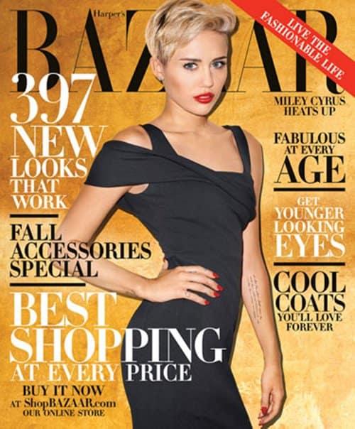 Miley Cyrus Harper's Bazaar Cover