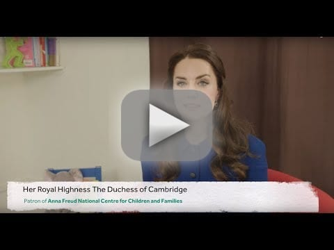 Kate middleton introduces a childrens mental health video resour