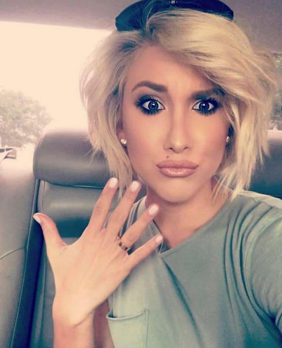 Savannah chrisley and a ring