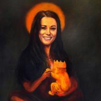 Kate Middleton Mona Lisa